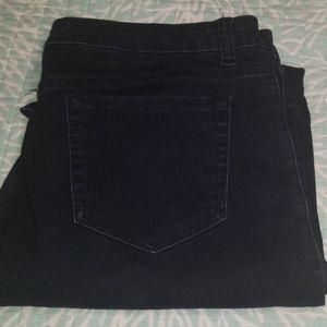 Jones NY dark denim jeans, EUC 14